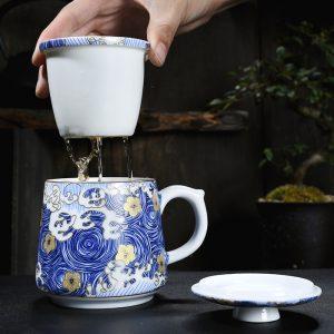 泡 茶 杯