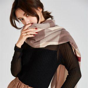 喀什米爾羊絨圍巾